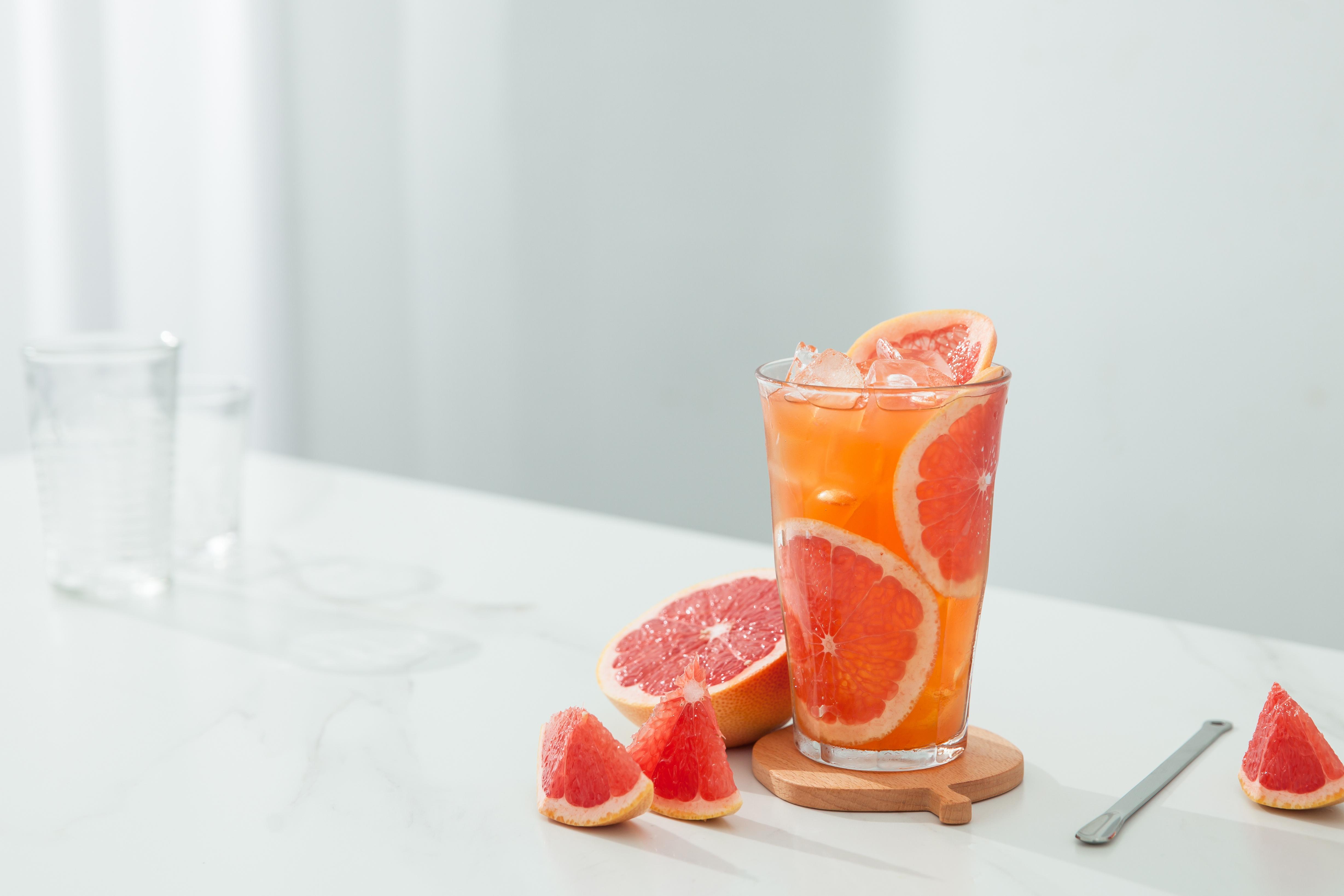 Grapefruit ice tea